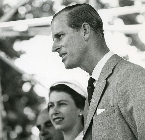 Prince Philip Duke of Edinburgh 1954